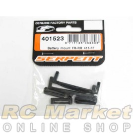 SERPENT 401523 Battery Mount FR-RR 411-FF