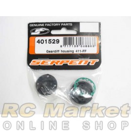 SERPENT 401529 Geardiff Housing 411-FF