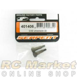 SERPENT 401406 CVD Wheelaxle (2)