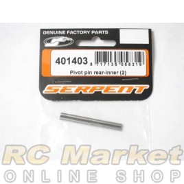 SERPENT 401403 Pivot Pin Rear-Inner (2)