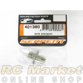 SERPENT 401380 Solid Axle/Spool