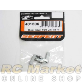 SERPENT 401506 Shock Mount Front L+R 411-FF