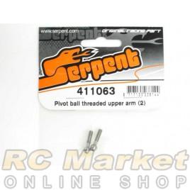 SERPENT 411063 Pivot Ball Threaded Upper Arm (2)