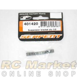 SERPENT 401420 Suspension Bracket Alu 3.5