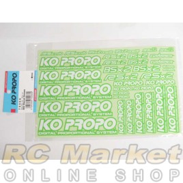 KO PROPO 79066 Decal Green