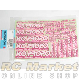 KO PROPO Decal Pink