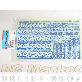 KO PROPO Decal Blue