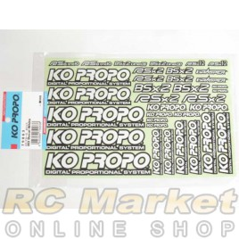 KO PROPO 79063 Decal White