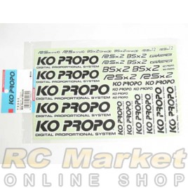 KO PROPO Decal Black