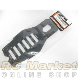 SERPENT 411226 Chassisplate S100 Carbon