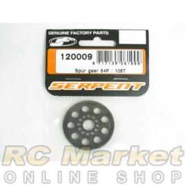 SERPENT 120009 Spur-gear Super-True 64P / 108T