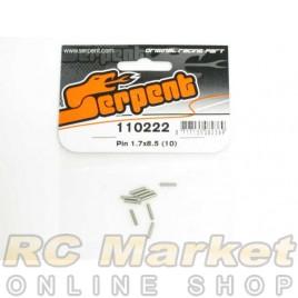 SERPENT 110222 Pin 1.7x8.5 (10)