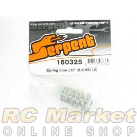 SERPENT 160325 Spring Blue L27 (5.8/33) (2)