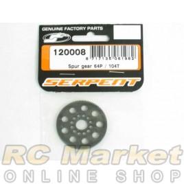 SERPENT 120008 Spur Gear 64P / 104T