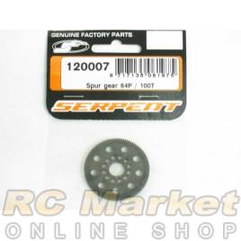 SERPENT 120007 Spur Gear 64P / 100T