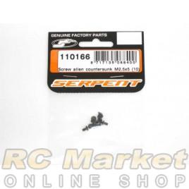 SERPENT 110166 Screw Allen Countersunk M2.5x5 (10)