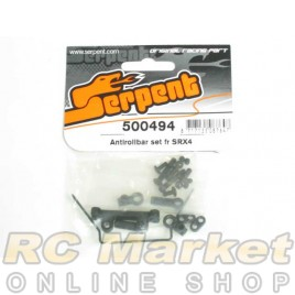 SERPENT 500494 Antirollbar Set FR SRX4