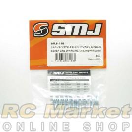 SMJ SMJ1136 Silver Line Spring RL7.3 (Short/Pink/2pcs)
