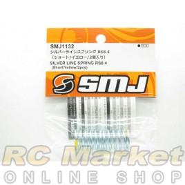 SMJ SMJ1132 Silver Line Spring RS8.4 (Short/Yellow/2 pcs.)