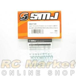 SMJ SMJ1129 Silver Line Spring RS8.8 (Short/Silver/2pcs)
