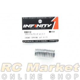INFINITY R8012 IF18 Front Spring Φ1.9-7T 2pcs