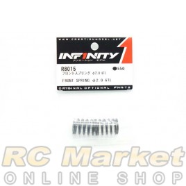 INFINITY IF18 Front Spring Φ2.0-6TL 2pcs