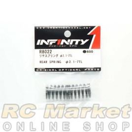 INFINITY R8022 IF18 Rear Spring Φ2.1-7TL 2pcs