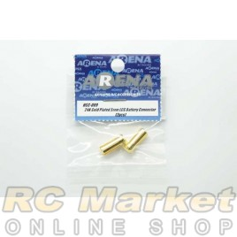 ARENA HCC-009 24K Gold Plated 5mm LCG Battery Connector (2pcs)