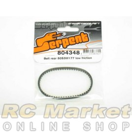 SERPENT 804348 Belt Rear 50S3M177 Low Friction