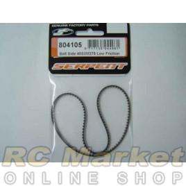 SERPENT 804105 Belt Side 40/378 Low Friction
