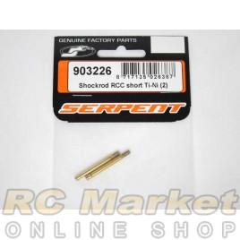 SERPENT 903226 Shockrod RCC Short Ti-Ni (2)