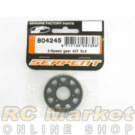SERPENT 804245 2-Speed Gear 53T SL6