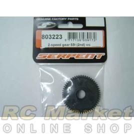 SERPENT 803223 Gear 2-Speed WC (2nd) 55T