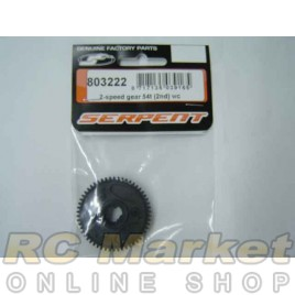 SERPENT 803222 Gear 2-Speed WC (2nd) 54T