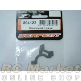 SERPENT 804122 Bearingblock RR Up Alu