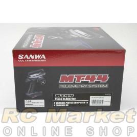 SANWA MT-44 Piano Black Ver. 4CH 2.4G RX-482