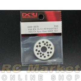 XENON G64-3075 VSS EX Spur Gear 64P 75T