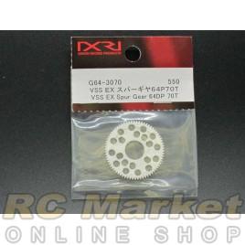 XENON G64-3070 VSS EX Spur Gear 64P 70T