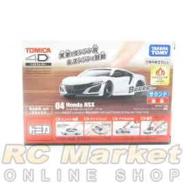 TOMICA 4D No.04 Honda NSX