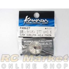 KAWADA PNB627 Super Duralumin m=0.6 Pinion Gear 27T