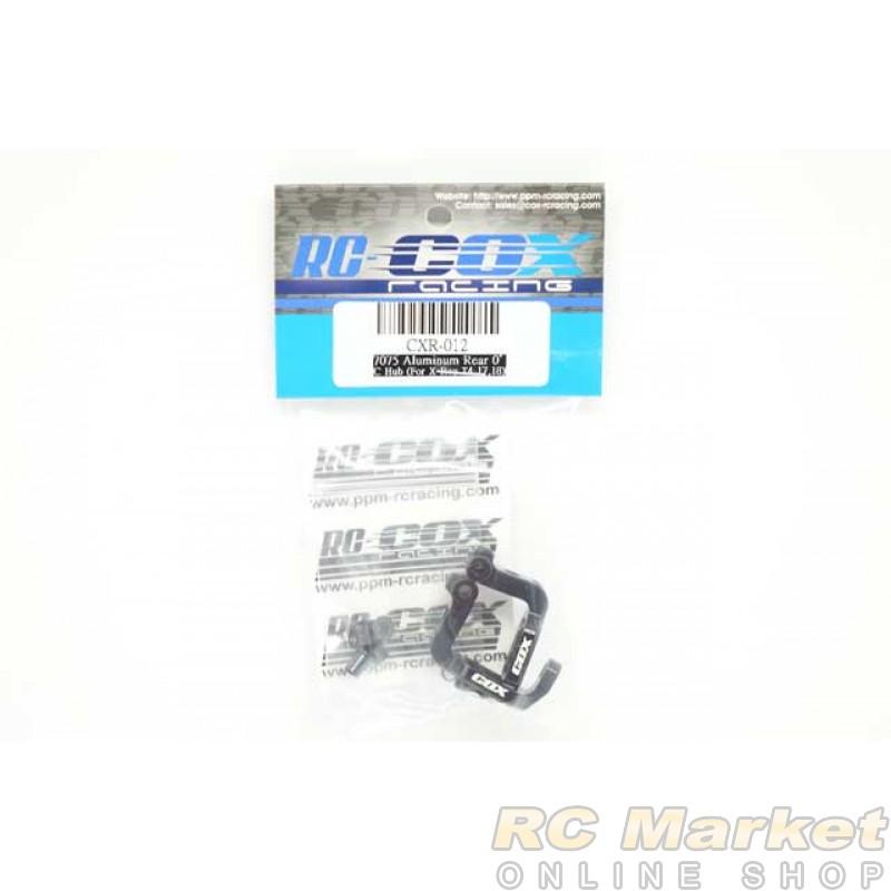 RC-COX CXR-012 7075 Aluminum Rear 0゚ C Hub (for Xray T4)