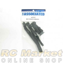 ASSOCIATED 92039 B64 Chassis Braces