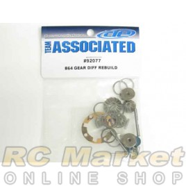 ASSOCIATED 92077 B64 Gear Diff Rebuild, Metal