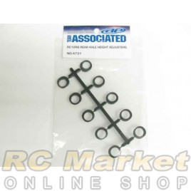 ASSOCIATED 4731 RC10F6 Rear Axle Height Adjusters