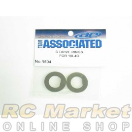 ASSOCIATED 8504 D-Drive Rings, for Axle