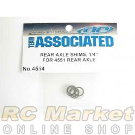ASSOCIATED 4554 Rear Axle Shims, .005 in