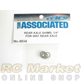ASSOCIATED 4554 Rear Axle Shims, .005 in