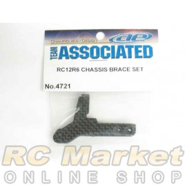 ASSOCIATED 4721 RC12R6 Chassis Brace Set, Left and Right