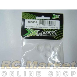XCEED 103038 Silicone Seal Mega-Picco .12 Clear (5)
