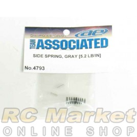 ASSOCIATED 4793 RC10F6 Side Springs, Gray, 5.2 lb/in
